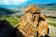 Kyrka för St Theodores i Berat arkivbild