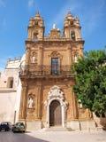 Kyrka för St Veneranda, Mazara del Vallo, Sicilien, Italien Royaltyfri Bild