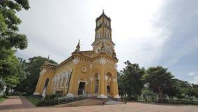 Kyrka för StJoseph ` s i Ayutthaya, Thailand Royaltyfri Fotografi