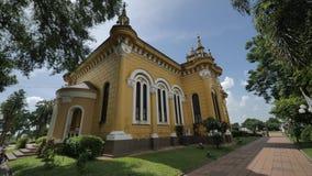 Kyrka för StJoseph ` s i Ayutthaya, Thailand Royaltyfri Bild