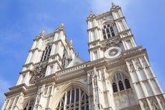 Kyrka för Westminster abbotskloster i London, England Arkivbilder