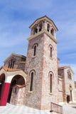 Kyrka från Aten Arkivfoto