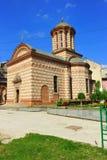 Kyrka - gammalt centrum av Bucharest royaltyfri bild
