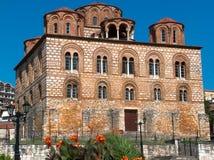 Kyrka Grekland för parigoritria för Arta stadspanagia byzantine arkivfoton