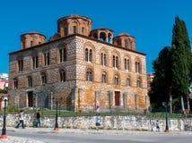 Kyrka Grekland för parigoritria för Arta stadspanagia byzantine royaltyfri fotografi