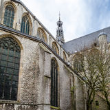 Kyrka i Alkmaar, Nederländerna arkivfoto