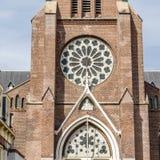 Kyrka i Alkmaar, Nederländerna royaltyfri bild