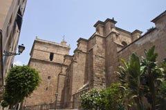 Kyrka i Almeria arkivfoton