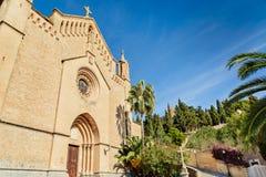 Kyrka i Arta, Mallorca Arkivfoto