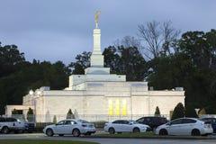Kyrka i Baton Rouge, Louisiana Royaltyfri Fotografi