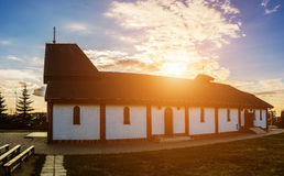 Kyrka i Bialystok Arkivfoto