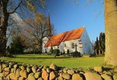 Kyrka i brutto- Bisdorf, Mecklenburg-Vorpommern, Tyskland royaltyfri fotografi