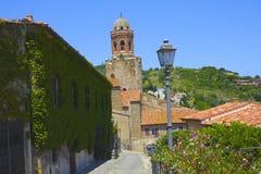 Kyrka i Castiglione, Italien arkivfoto