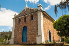 Kyrka i Chapada Diamantina, Brasilien Arkivbilder