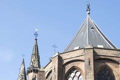 Kyrka i Delft Fotografering för Bildbyråer