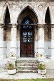 Kyrka i den gotiska stilen Royaltyfri Foto