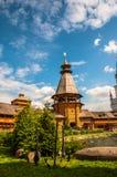 Kyrka i den Izmailovo Moskva royaltyfri fotografi