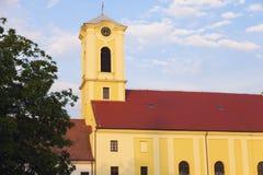 Kyrka i den Oradea citadellen fotografering för bildbyråer