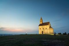 Kyrka i Drazovce, Slovakien Arkivbild