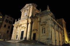 Kyrka i Dubrovnik royaltyfri fotografi
