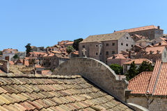 Kyrka i Dubrovnik Kroatien Royaltyfria Foton