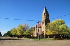 Kyrka i Edenville Arkivfoton
