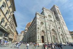 Kyrka i Florence, Tuscany, Italien Royaltyfri Foto