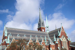 Kyrka i Göteborg Arkivbild