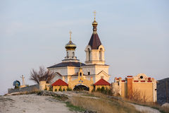 Kyrka i gamla Orhei, Moldavien arkivbild