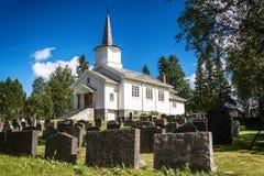 Kyrka i Geilo, Norge Arkivfoton