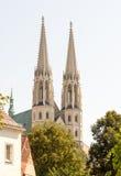 Kyrka i Goerlitz arkivfoton
