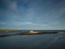 Kyrka i havet Royaltyfri Fotografi