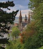 Kyrka i Inverness royaltyfria foton