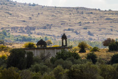Kyrka i Israel arkivbild