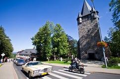 Kyrka i Karpacz, Polen Arkivbild