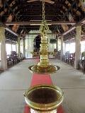 Kyrka i Kerala, Indien arkivbild
