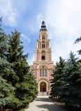 Kyrka i Kharkov. Ukraina. arkivfoto