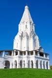 Kyrka i Kolomenskoe Arkivfoto