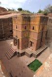 Kyrka i Lalibela, Etiopien Royaltyfri Bild