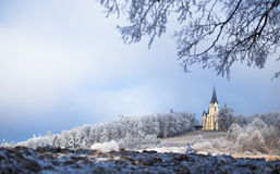 Kyrka i Levoca 4 arkivfoto