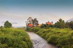 Kyrka i Meahonson Thailand Arkivbilder