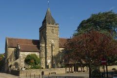 Kyrka i Midhurst, Sussex, England arkivbilder