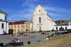 Kyrka i Minsk, Vitryssland royaltyfria bilder