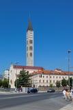 Kyrka i Mostar royaltyfria foton