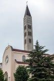 Kyrka i Mostar arkivbild