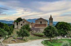 Kyrka i mummel, Kroatien Arkivfoto