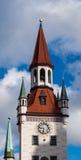 Kyrka i Munich, Tyskland Royaltyfria Bilder
