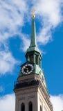Kyrka i Munich, Tyskland Fotografering för Bildbyråer