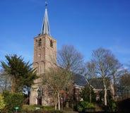 Kyrka i Pijnacker, Nederländerna Royaltyfri Fotografi