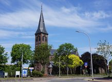 Kyrka i Pijnacker, Nederländerna Royaltyfri Foto